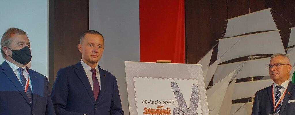 """Poczta Polska upamiętniła 40 lat """"Solidarności"""""""