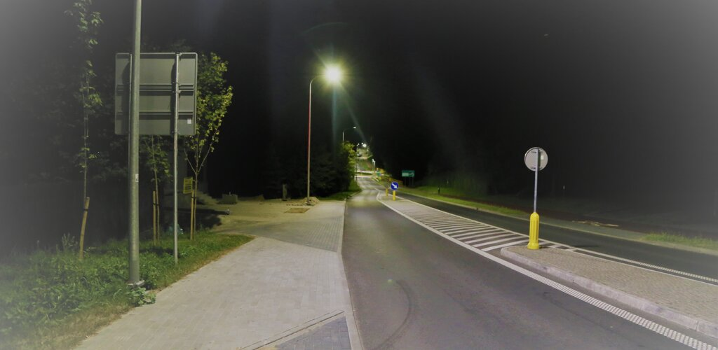 Nowe oświetlenie uliczne w Łasinie i Ryjewie