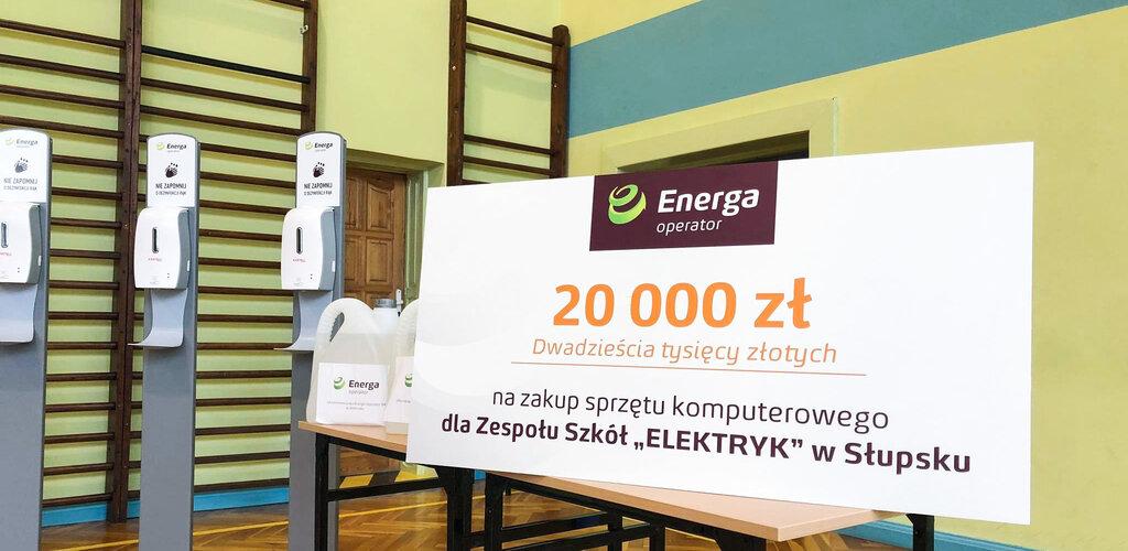 Energa współpracuje ze szkołami w Elblągu i w Słupsku