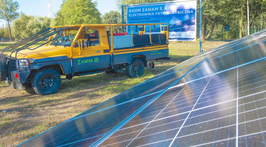 KGHM buduje pierwszą w Polsce elektrownię fotowoltaiczną w technologii 4.0
