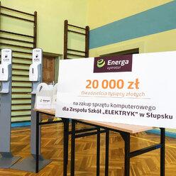 Energa Operator współpracuje ze szkołami w Elblągu i w Słupsku