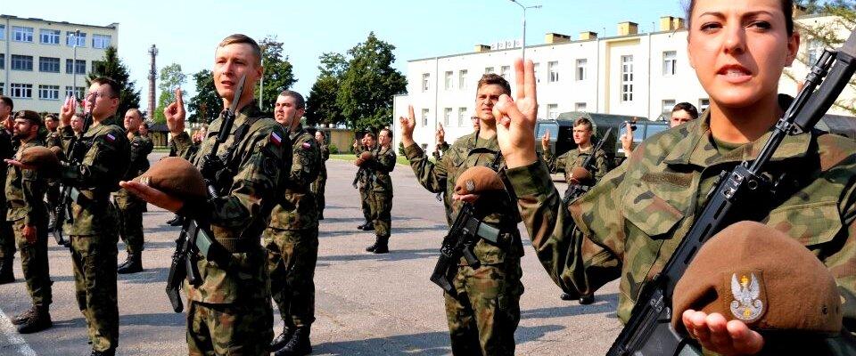 """""""Ja, żołnierz Wojska Polskiego, przysięgam..."""""""