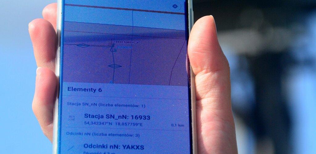 Sieć energetyczna w smartfonie. Energa wdrożyła aplikację GIS Mobilny