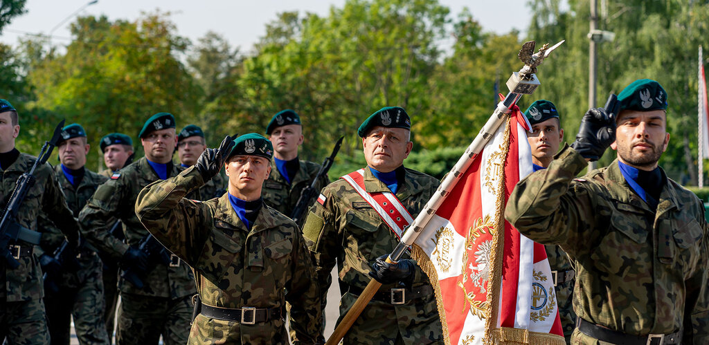 Święto CSŁiI i 101. rocznica szkolenia kadr łączności w Zegrzu