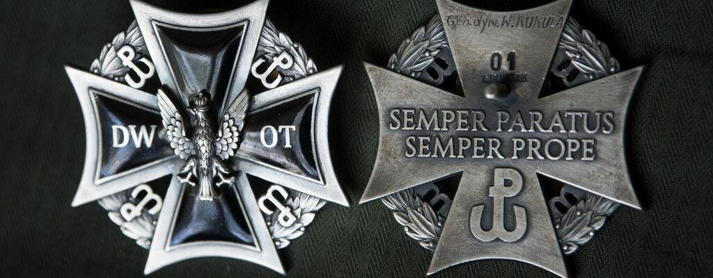 Odznaka pamiątkowa Dowództwa Wojsk Obrony Terytorialnej