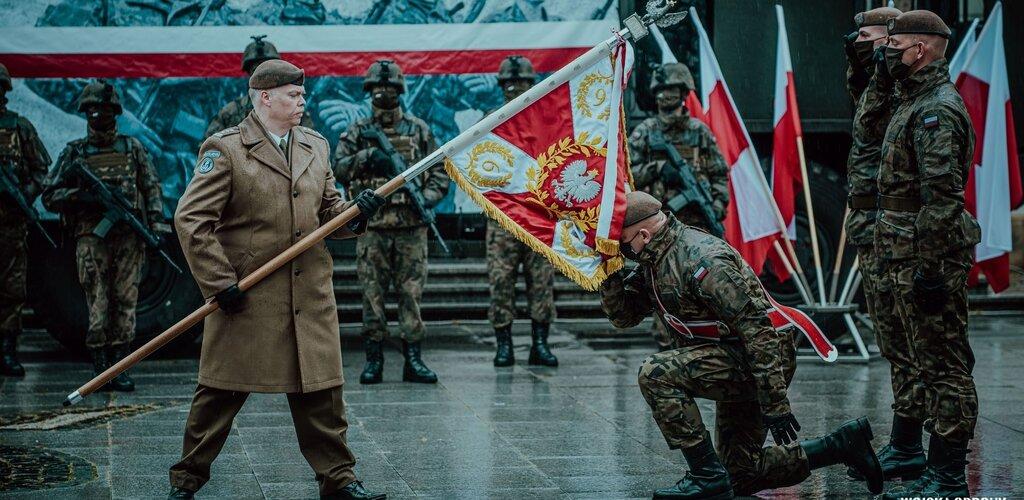 Sztandar wojskowy dla 6 Mazowieckiej Brygady Obrony Terytorialnej