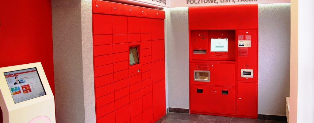 Poczta Polska rozbudowuje sieć: 2 tys. zewnętrznych automatów do 2022 r.
