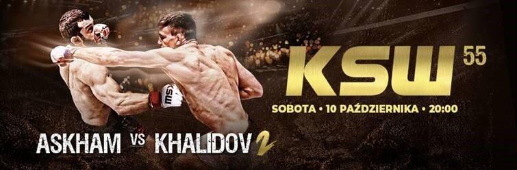 Gala KSW 55: Khalidow spróbuje odzyskać pas