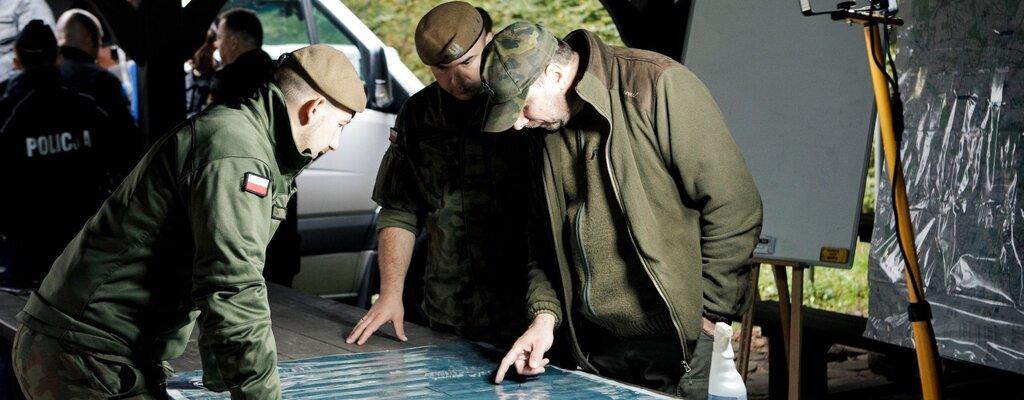 Terytorialsi szukali pilota i rozbitego myśliwca