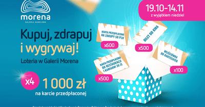 Ponad 6000 nagród w Galerii Morena