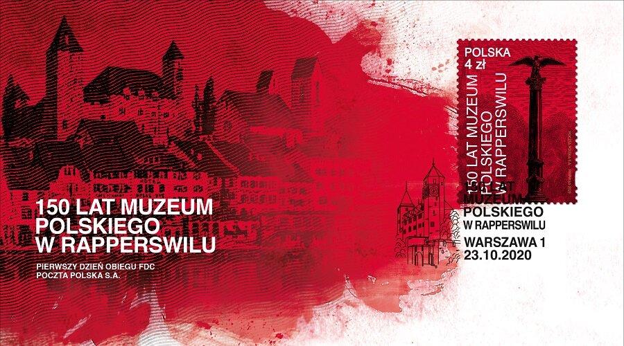 Muzeum w Rapperswilu na znaczku pocztowym