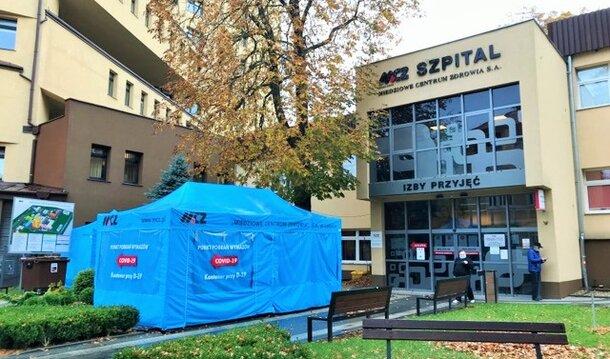 Oddział dla pacjentów z COVID-19 powstaje w Miedziowym Centrum Zdrowia w Lubinie