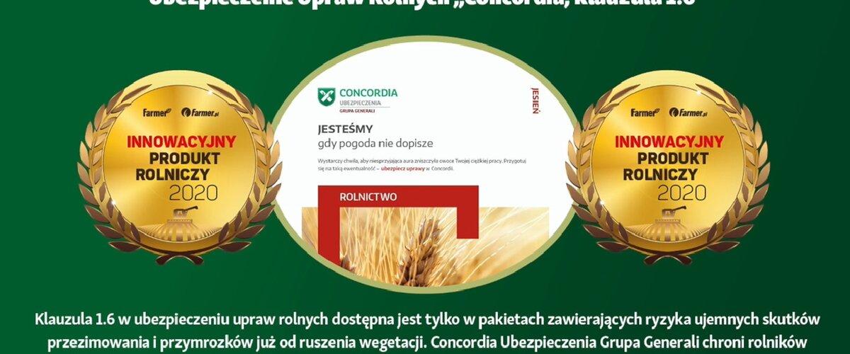 Rolnicy wyróżnili Concordię Polska