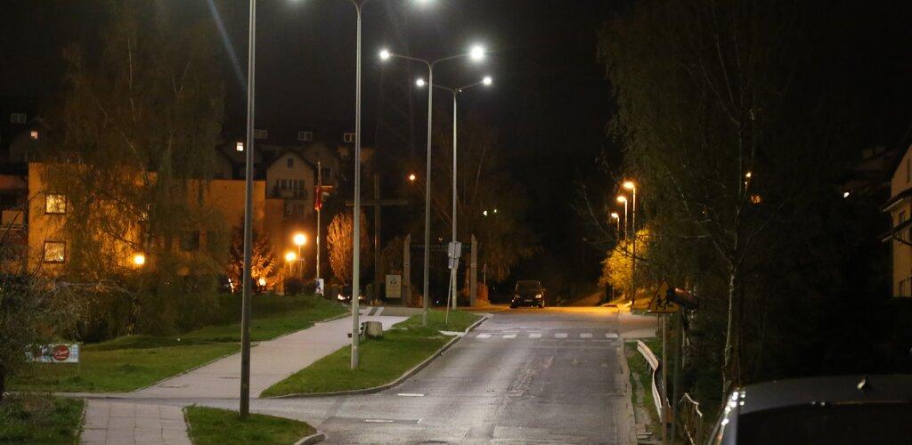 Energa wymienia oświetlenie uliczne w Gdańsku