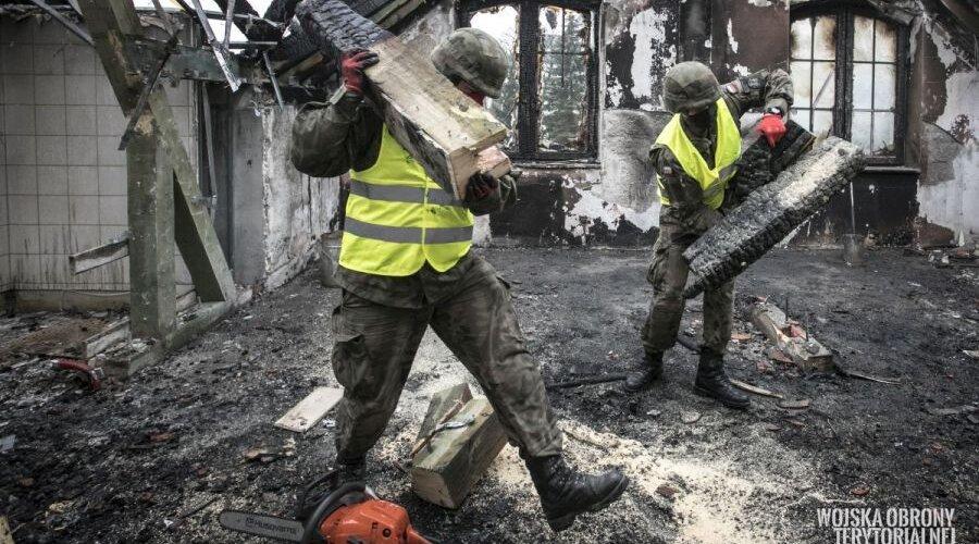 Terytorialsi z pomocą w Kodniu