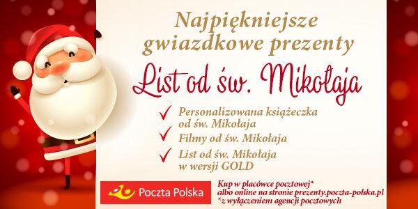 Poczta Polska z atrakcyjną ofertą produktów świątecznych