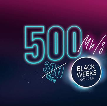Black Weeks w Netii