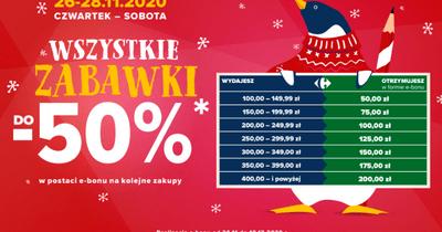 Weekend zniżek w Carrefour już od czwartku 26 listopada