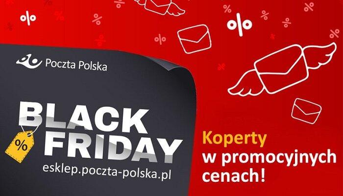 Black Friday i Cyber Monday w eSklepie Poczty Polskiej