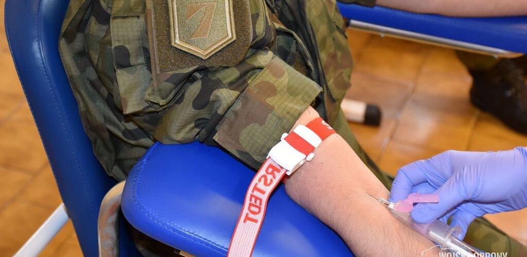 Pomorscy terytorialsi wspierają Regionalne Centra Krwiodawstwa i Krwiolecznictwa