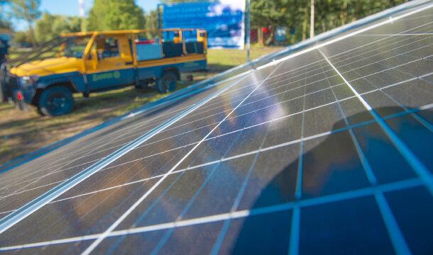 KGHM está construyendo la primera central fotovoltaica en Polonia en la tecnología 4.0