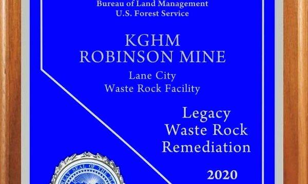La mina americana de KGHM premiada por la gestión del medio ambiente