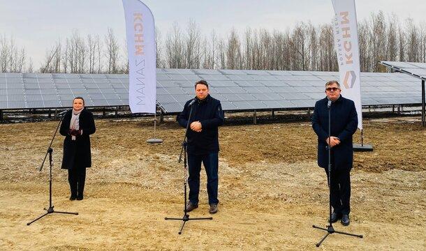 Energía limpia en KGHM. Se ha iniciado la construcción de la primera central fotovoltaica con tecnología 4.0 en Polonia