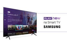 Aplikacja PLAY NOW już dostępna na Smart TV Samsung
