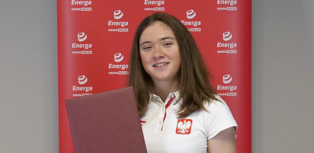 Energa z nową ambasadorką Zofią Chrzan