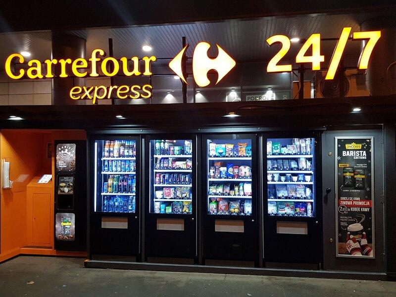 Carrefour otworzył drugi sklep samoobsługowy