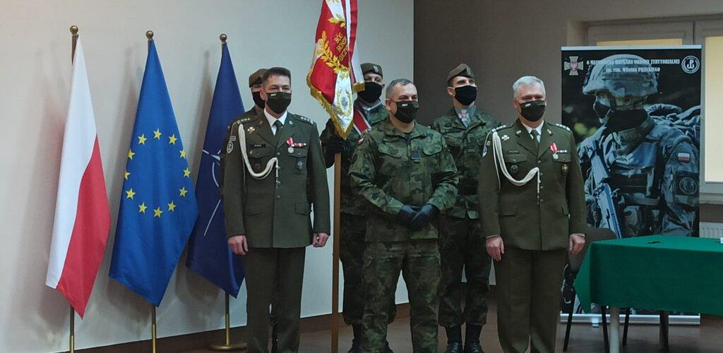 Pułkownik Witold Bubak nowym dowódcą 6 Mazowieckiej Brygady OT