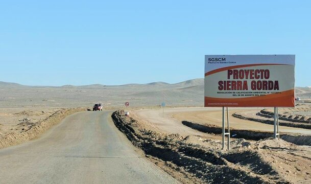 The State Mining Association of Chile award for Sierra Gorda
