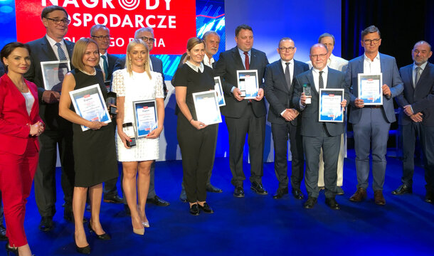 """KGHM with the Economic Award of Polish Radio in the category """"Good Management"""""""