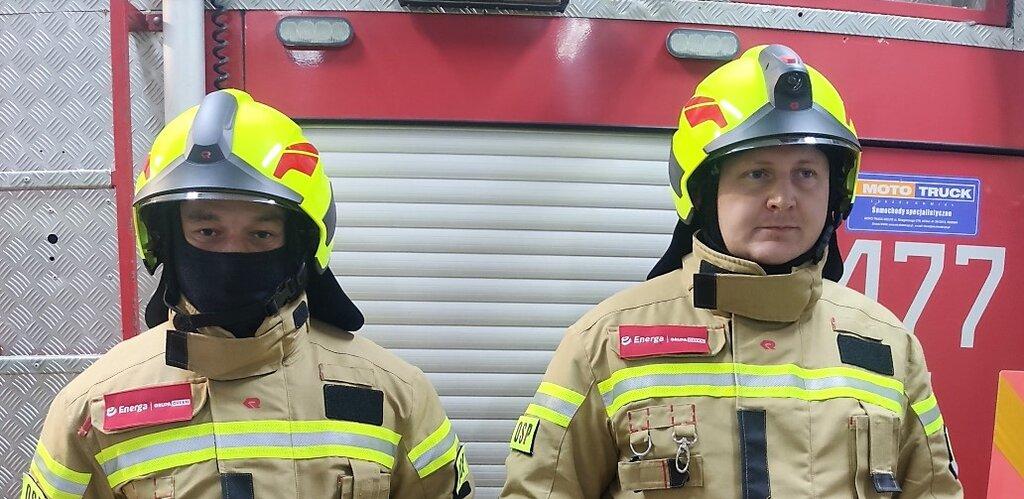 Energa wsparła strażaków z Robunia