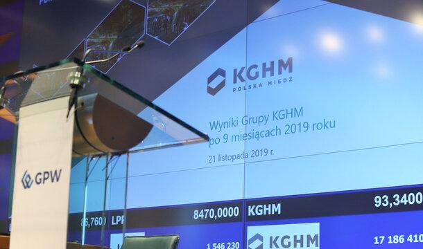 KGHM con el aumento de producción, del EBITDA y del beneficio neto
