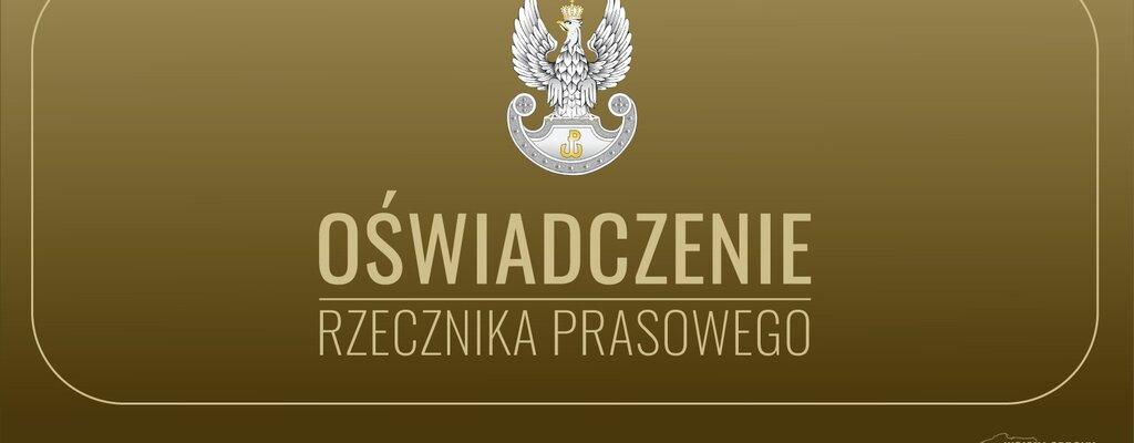 Oświadczenie rzecznika prasowego 7 Pomorskiej Brygady OT