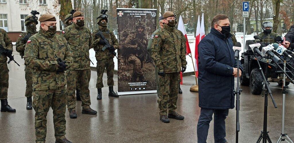 Dowództwo 6 Mazowieckiej Brygady OT przeniesione do Radomia