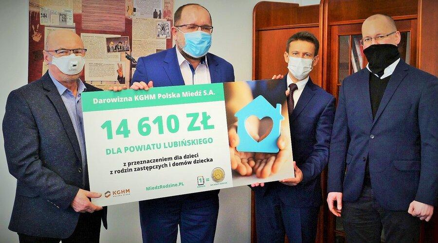 KGHM przekazał ponad 40 tys. zł na rzecz dzieci z domów dziecka w Zagłębiu Miedziowym