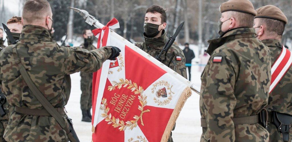 Pierwsze przysięgi Terytorialsów w 2021 roku