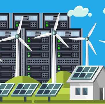 Usługi chmurowe Netii zasilane zieloną energią