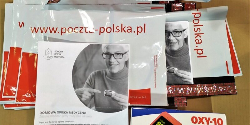 Poczta Polska: Ministerstwo Zdrowia wprowadza dodatkowy sposób zwrotu pulsoksymetrów