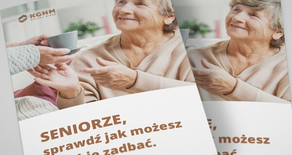 Protective packs for seniors in Lower Silesia - KGHM continues its campaign to help the elderly