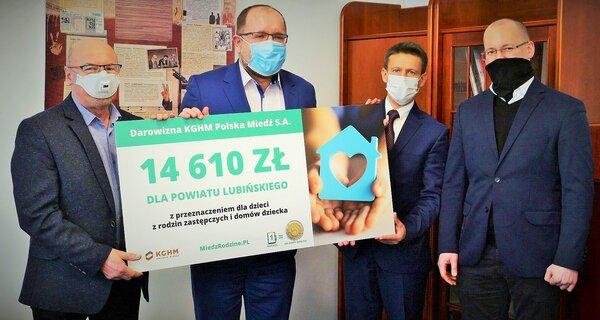 KGHM ha donado más de 40.000 PLN para niños de orfanatos en el Cinturón del Cobre