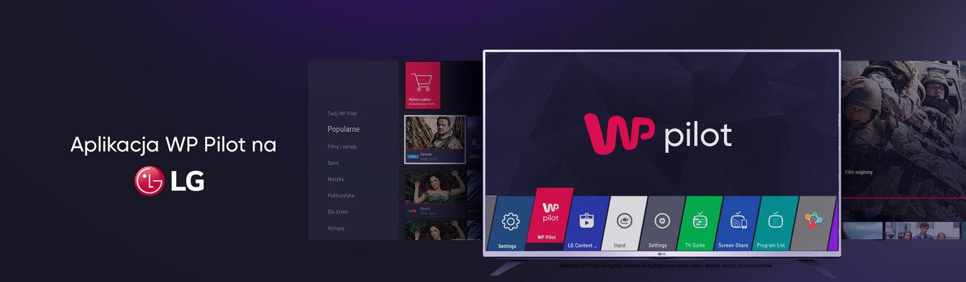 WP Pilot z aplikacją na LG Smart TV