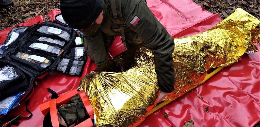 Terytorialsi z niżańskiego batalionu ćwiczyli z druchami OSP Dzikowiec i Wilcza Wola