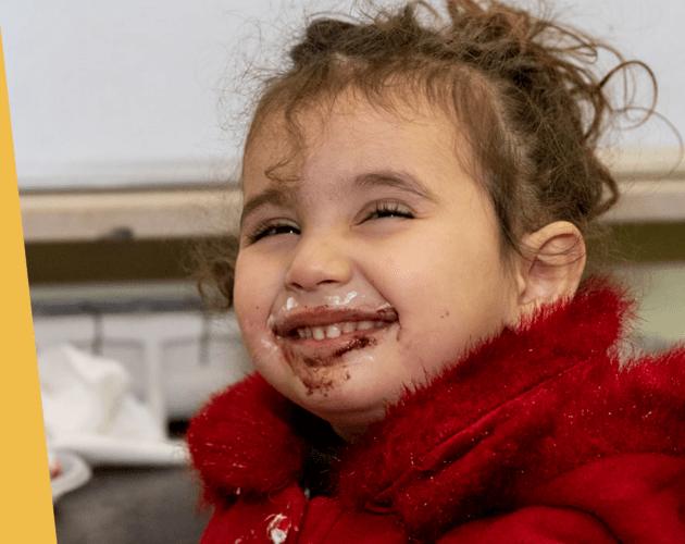 Wyzwanie na Tłusty Czwartek. Kupując #DobrePączki możesz wesprzeć dzieci w Syrii dzięki Fundacji Świętego Mikołaja