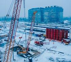 Na budowie Warszawy Zachodniej pracuje 500 osób i 150 jednostek sprzętu