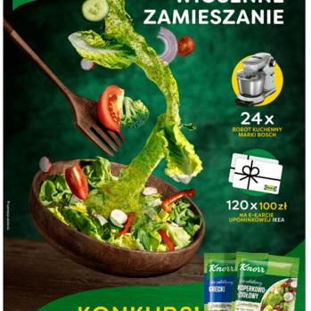 """Zdjęcie: Konkurs - czas na """"Wiosenne zamieszanie"""" z sosami sałatkowymi Knorr"""