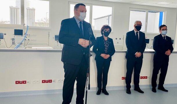Gotowy szpital modułowy w Legnicy