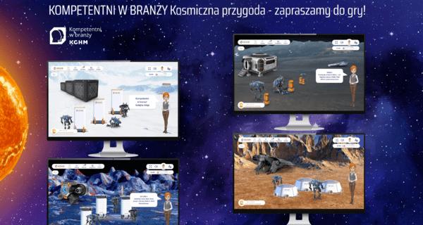 Zabierzemy Was w kosmos – nowy projekt KGHM dla uczniów szkół patronackich w Zagłębiu Miedziowym